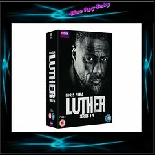 LUTHER- COMPLETE SERIES SEASONS 1 2 3 4  * BRAND NEW DVD BOXSET**