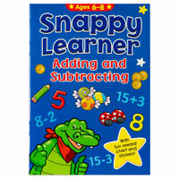 Snappy Lerner Adding & Subtraction Book - Educational Book for Kids aged 6-8