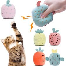 New listing Squeaky Indoor Teething Dog Teeth Toys Chew Toy Catnip Pillows Cat Crinkle Toys