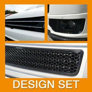 VW T5.1 Transporter Van Front Styling Gloss Black Package (3pcs)