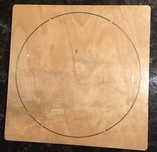 "5"" Circle wooden die fits Accucut Ellison Studio Machines"