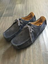Clarks Natalie Ante Azul Marino Botas Zapatos canguro antropomórfico Nuevo  Para hombres Talla 13 nuevos 03972 fbb6735fa2d2