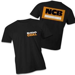 British coal T-Shirt, NCB national coal board, miners strike tshirt Thatcher tee