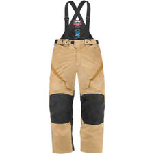 Pantalones marrones para motoristas, para hombre