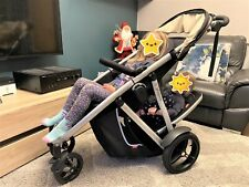 phil and teds double buggy verve black