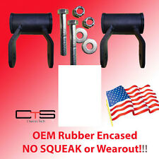 Chevy Silverado Lifted Shackles 1988-2015 GM88 Chevrolet GMC Factory Molded Bush