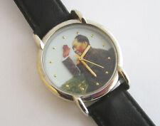 Chairman Mao Zedong Chinese Leader Mechanical Watch w Waving Hand RUNS 1893-1993