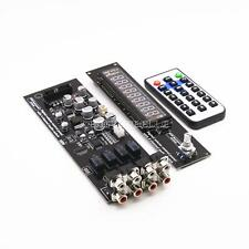 Assembled CS3310 Remote Preamp Board VFD Display 4-way Input HIFI Preamplifier