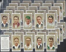 PLAYERS-FULL SET- CRICKET ERS 1934 (50 CARDS) DON BRADMAN - EXC
