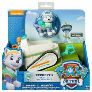 PAW PATROL EVEREST'S RESCUS SNOWMOBILE PUP TRUCK ACTION FIGURES VEHICLE TOY
