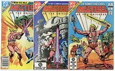 Masters of the Universe #1 - 3  Complete Set  avg. NM- 9.2  Marvel 1982  No Resv