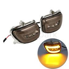 Motorrad LED Blinker Rauchend Linse Für Honda Goldwing 1800 GL1800 2001-2017 16