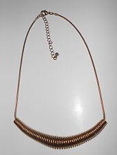"Stylish Brass Necklace adjustable length 20"""
