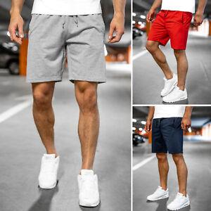 Shorts Bermudas Sporthose Kurze Kurzhose Jogging Unifarben Herren BOLF Fitness