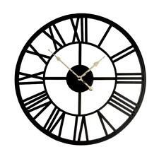 """CEPEWA 33627 - Wanduhr """"Römische Ziffern"""", gr., 70cm klassische Uhr Dekoration"""