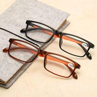 Light Gafas de ampliación Gafas de lectura HD lente claro La presbicia anteojos