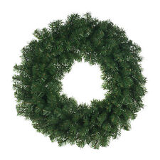 80cm Classic Green Christmas Party Pine Wreath Door Wall Decoration