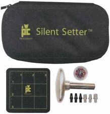 Provo Craft Zision Silent Setter Hammerless Eyelet 8-piece Tool Set Scrapbooking