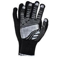 Montagehandschuhe 12 PAAR Arbeitshandschuhe Handschuhe Schwarz Gr.7-10 NEU TOP