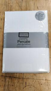 Warehouse Clearance Carton Lot Plain White Pillowcase Pairs 48 Pairs in a Box