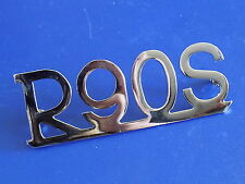 BMW R90S motorcycle rear fender emblem  NEW