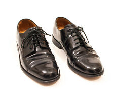 EUC Cole Haan Caldwell Cap Toe Oxford Black Dress Shoes 08330 US 9.5 D