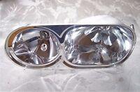 Volvo S40 V40 Twin Headlight Chrome Inner Reflector Left Side 00 to 04 30864647