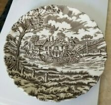 Royal Mail saucer - Fine Staffordshire Ironstone