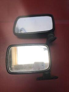 Vw Mk1 Rabbit Cabriolet Jetta Caddy Driver Side View Flag Mirror