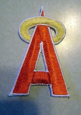 Anaheim Angels  Iron On   Embroidered Patch 2 1/2 inch Tall