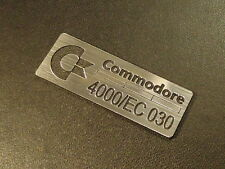 Commodore Amiga 4000/EC 030 Label / Logo / Sticker / Badge 42 x 15 mm [271b]