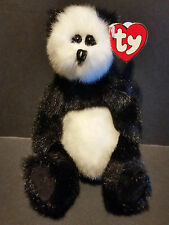 1993 Ty Plush Checkers Panda Bear