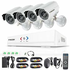 Outdoor/Indoor IR Home Security Camera System 720P Wireless DVR HD Kit NEW 4 Pcs