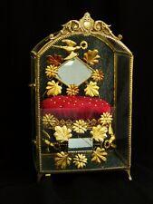 Exclusive French 19th. c.  Crown Tiara Wedding Display Case.