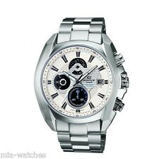 Casio EF548D-7A Edifice Mens Stainless Steel 100M WR Chronograph Dress Watch