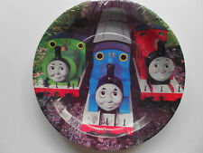 "THOMAS THE TANK ENGINE  9"" BIRTHDAY PARTY PAPER  PLATES  PK8 NEW!"