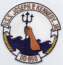 USS Joseph P. Kennedy, Jr. DD 850 - Neptune arm from Ocean BC Patch C5325
