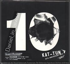 KAT-TUN: 10th anniversary Best 10Ks! (2016) Japan / 2CD & DVD 36p BOOKLET TAIWAN