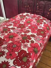 vintage STUNNING BED THROW /UNUSED (stunning colours ) DOUBLE BED