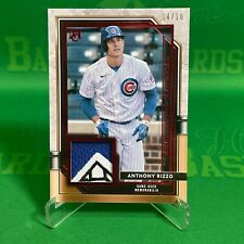 2021 Topps Museum Patch Anthony Rizzo /10