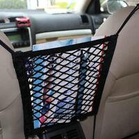 Auto Car Seat Side Storage Mesh Net Pouch Bag Phone Holder Pocket Organizer YT