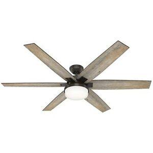 """Hunter Masterpiece Series Kaplan LED 64"""" Ceiling Fan FREE SHIP"""