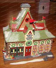 Express Depot (North Pole Series Dept. 56, 5627-8) Holiday Village, 1998