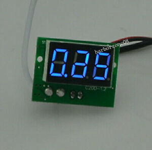 """0.36"""" LED DC 0 to 1000mA Red Green blue Panel Meter Digital Current Ammeter"""