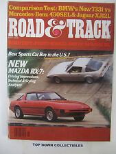 Road and Track Magazine   May  1978           Best Sports Car Buy In The U.S.