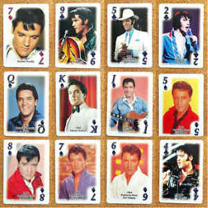 Misc - Elvis Presley TV Film Single Playing Card - Various Films / Movies
