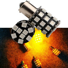 2x 36 LED 12V 1156 ba15s Yellow/Amber Car Bulb Tail/Stop/Turn Signal Light Lamp