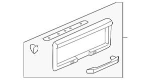 Genuine GM License Pocket 15135441