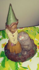 Rare Retired Tom Clark Bunny Love Easter 1994 Vintage Cairn Studios Fairy