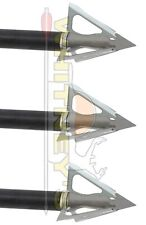 "G5 Archery Striker V2 Crossbow / Xbow 100 gr Broadhead 1.25"" cut 100% Steel 6132"